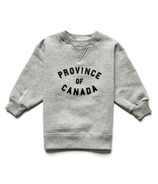 Province of Canada Province Kids Crewneck Heather Grey