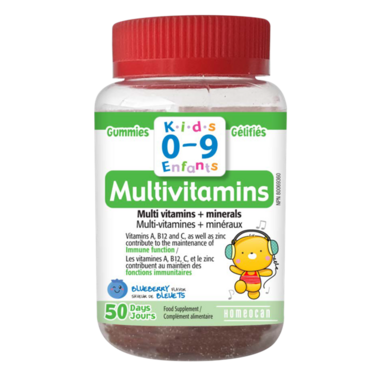 Homeocan Kids 0-9 Multivitamins Gummy Bear