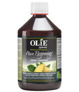 Olie New Beginning Organic Fermented Ginger & Herbal Probiotic Beverage