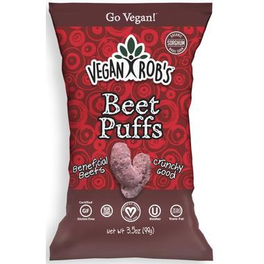 Vegan Rob\'s Beet Puffs
