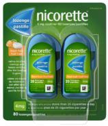 NICORETTE Pastilles à la nicotine Fruit 4mg