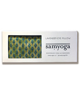 Samyoga Lavender Scented Eye Pillow Motif Lime Green