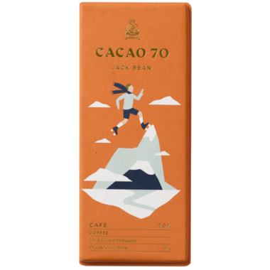 Cacao 70 Jack Bean Dark Chocolate with Coffee Beans