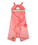 ZOOCCHINI Toddler/Kids Animal Hooded Blanket Bella the Bunny