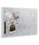 Umbra Trigon Bulletin Board White