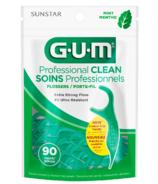 GUM Professional Clean Flossers Mint