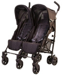 Guzzie & Guss Twice Double Umbrella Stroller Black