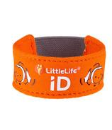 LittleLife Safety ID Strap Clownfish