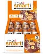 PhD Nutrition Smart Bar Chocolate Peanut Butter