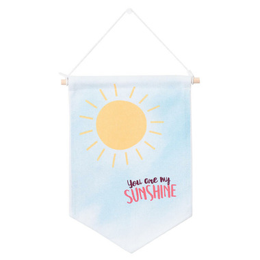 Lulujo Baby Wall Hanger You Are My Sunshine