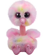 Ty Beanie Boo's Avery The Multi Colour Ostrich Medium