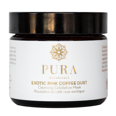 Pura Botancials Exotic Pink Coffee Dust