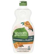 Seventh Generation Dish Soap Liquid Clementine Zest & Lemongrass