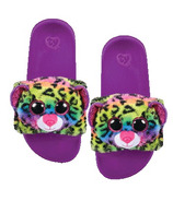 Ty Fashion Dotty the Leopard Pool Slides