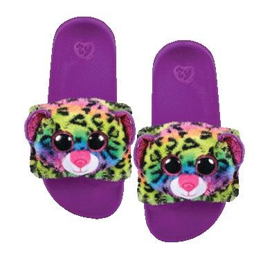 Ty Fashion Dotty the Leopard Pool Slides