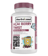 Herbaland Acai Berry Twist Gummies for Adults