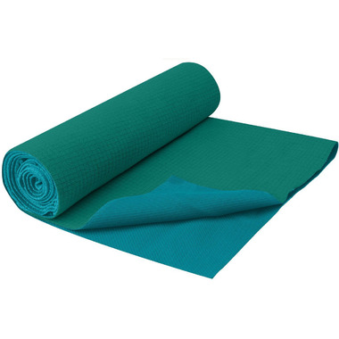 Gaiam No Slip Yoga Towel Lush Teal