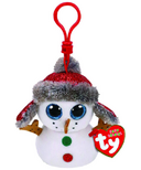 Ty Beanie Boo's Buttons The Snowman Clip