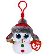 Ty Beanie Boo's Buttons The Snowman Clip