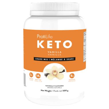 ProtiLife Keto Vanilla Keto Shake Mix