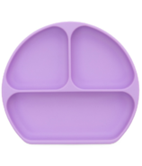Bumkins Silicone Grip Dish Lavender
