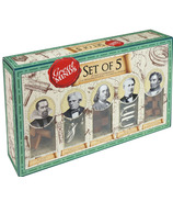 Professor Puzzle Great Minds Set Of 5 Wooden Brain Teasers