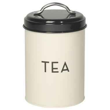 Now Designs Tin Tea Ivory