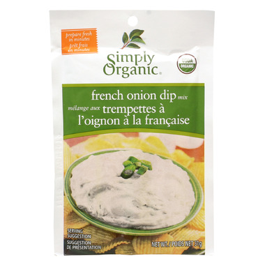 Simply Organic French Onion Dip