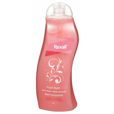 Rexall Foam Bath Rose