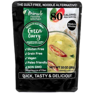 Miracle Noodle Green Curry Ready to Eat Meal