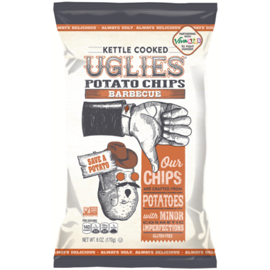 UGLIES Barbeque Kettle Cooked Potato Chips