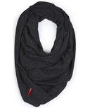 Skip Hop Grab & Go Hide & Chic Nursing Scarf Black Heather