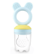 Haakaa Fresh Food Teething Feeder Blue