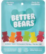 Better Bears Vegan Gummy Bears Variety Pack