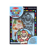 Melissa & Doug Stained Glass Made Easy Santa Claus