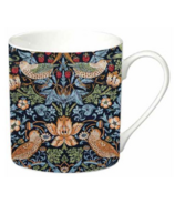 Bell & Curfew Mug Set William Morris Strawberry Thief