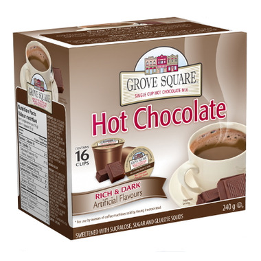 Grove Square Rich & Dark Hot Chocolate K-Cups