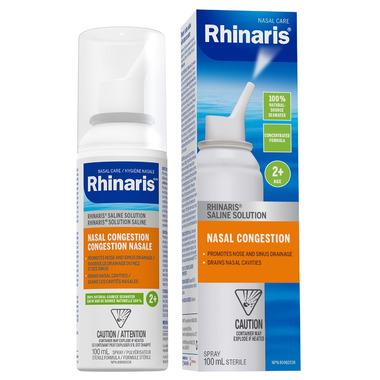 Rhinaris Saline Solution Nasal Congestion