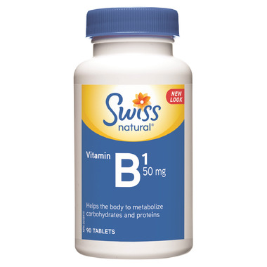 Swiss Natural Vitamin B1