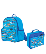 Crocodile Creek Backpack + Lunchbox Bundle Sharks