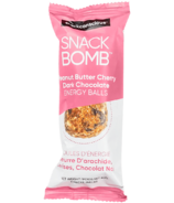 Snack Conscious Snack Bomb Peanut Butter Cherry Dark Chocolate Energy Balls