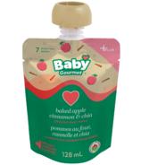 Baby Gourmet Plus Baked Apple Cinnamon Chia Organic Baby Food