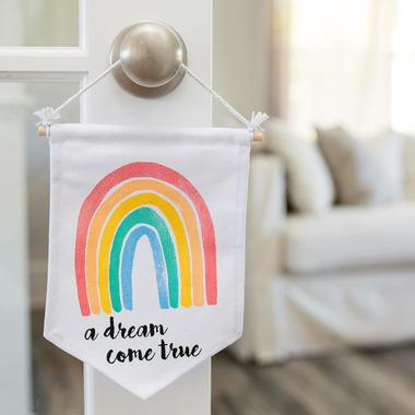 Lulujo Baby Wall Hanger Dream Come True