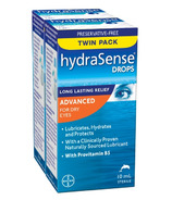 hydraSense Eye Drops Advanced For Dry Eyes Twin Pack