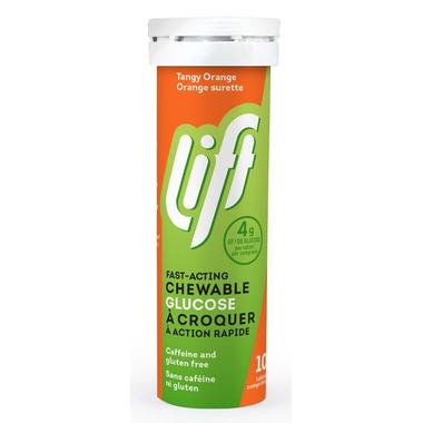 Lift Glucose Chews Tangy Orange