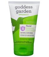 Goddess Garden Facial Sunscreen Lotion
