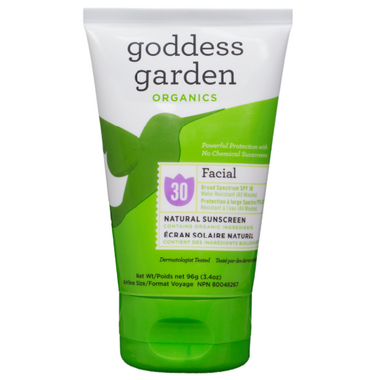 Goddess Garden Facial Sunscreen Lotion