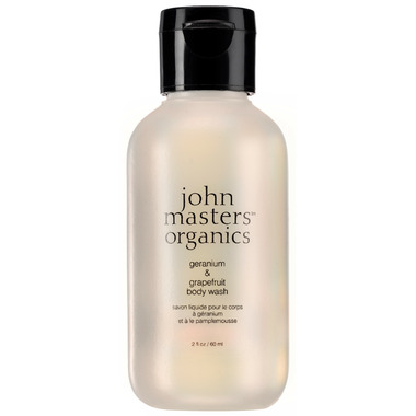 John Masters Organics Geranium & Grapefruit Body Wash Travel Size