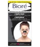 Biore Deep Cleansing Charcoal Pore Strips Value Pack