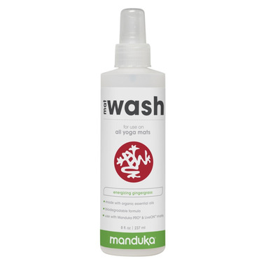 Manduka Mat Wash Spray Energizing Gingergrass